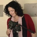Lisa Chait (at work)